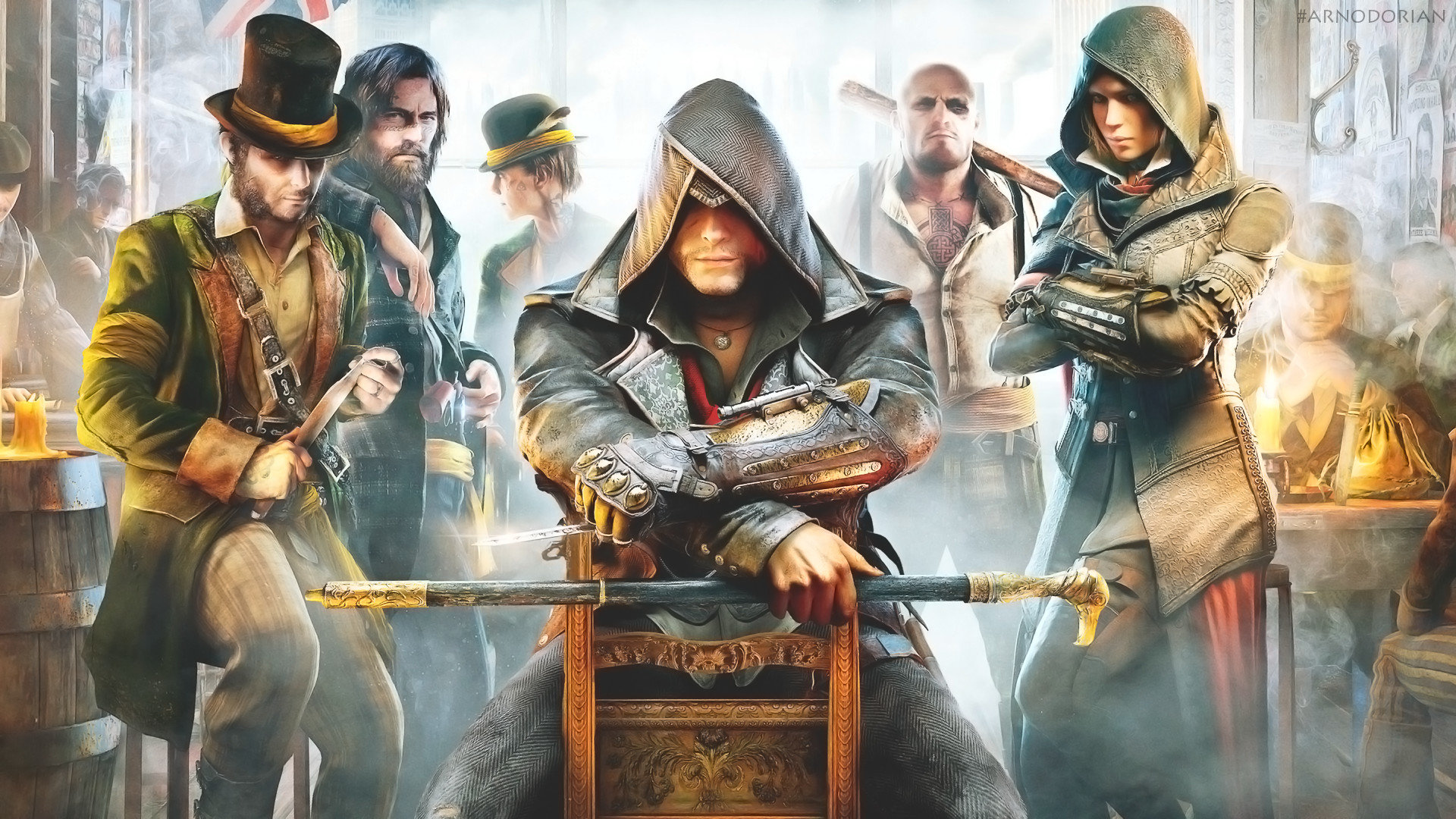 Assassin S Creed Syndicate Wallpapers 1920x1080 Full Hd 1080p
