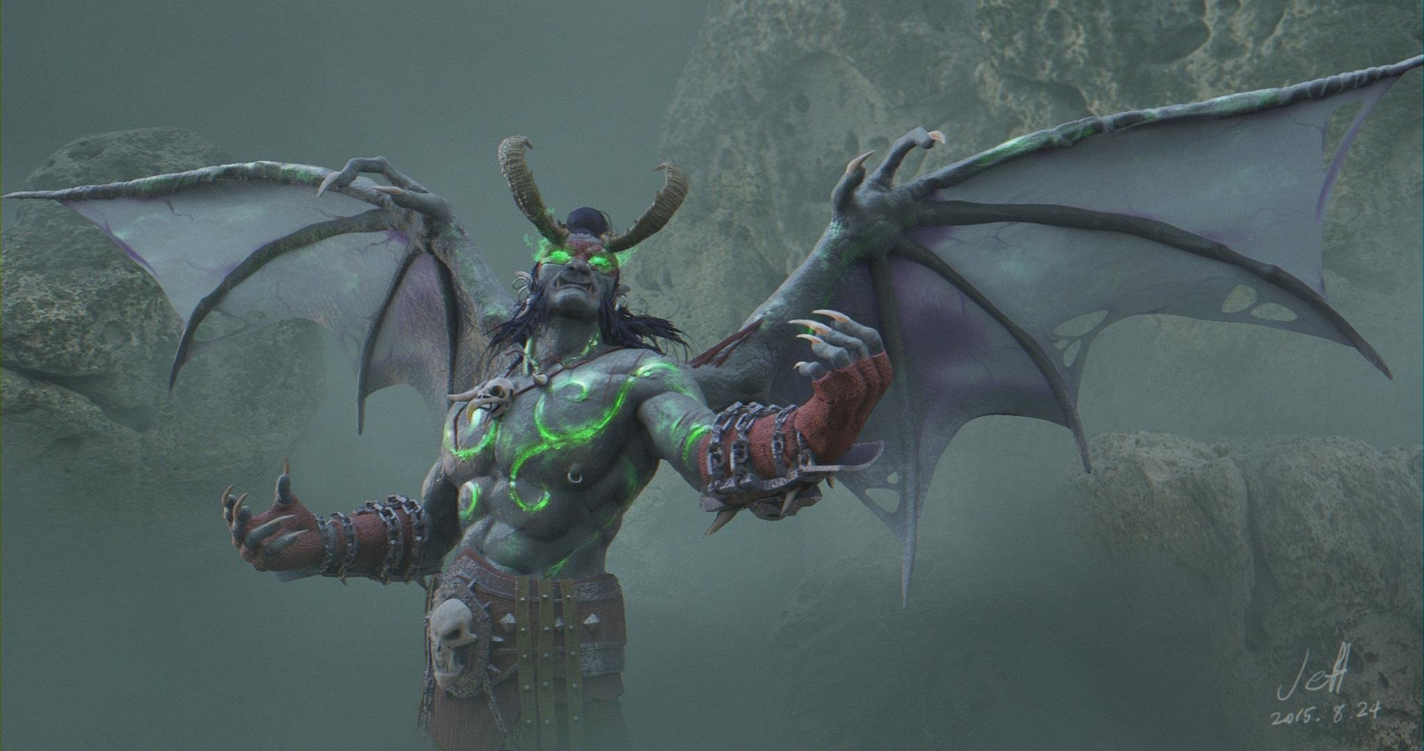 Free Illidan Stormrage high quality background ID:245179 for hd 2048x1080 computer