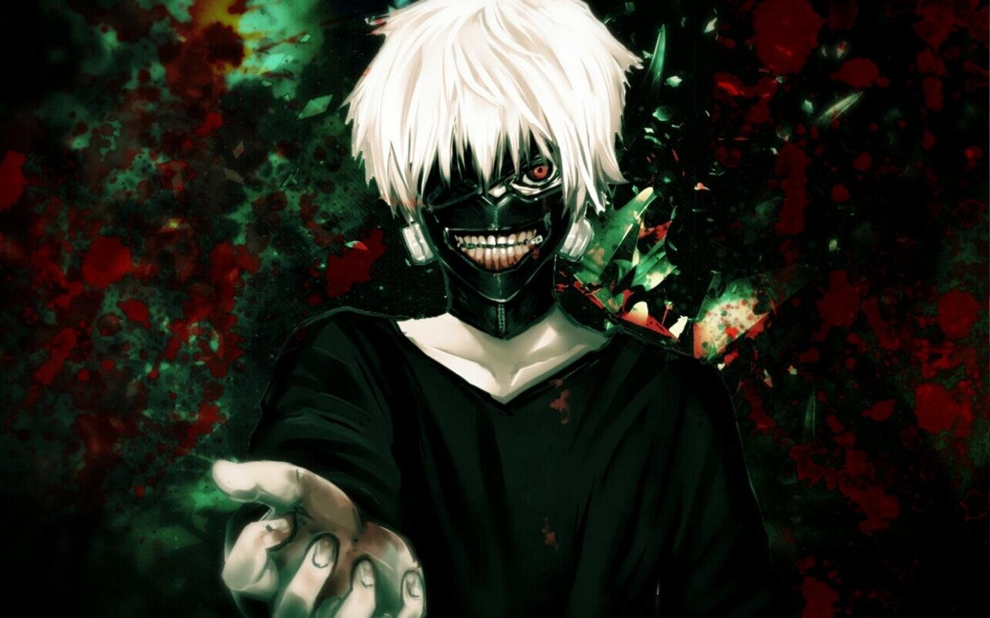 Free Ken Kaneki high quality background ID:150182 for hd 1440x900 PC