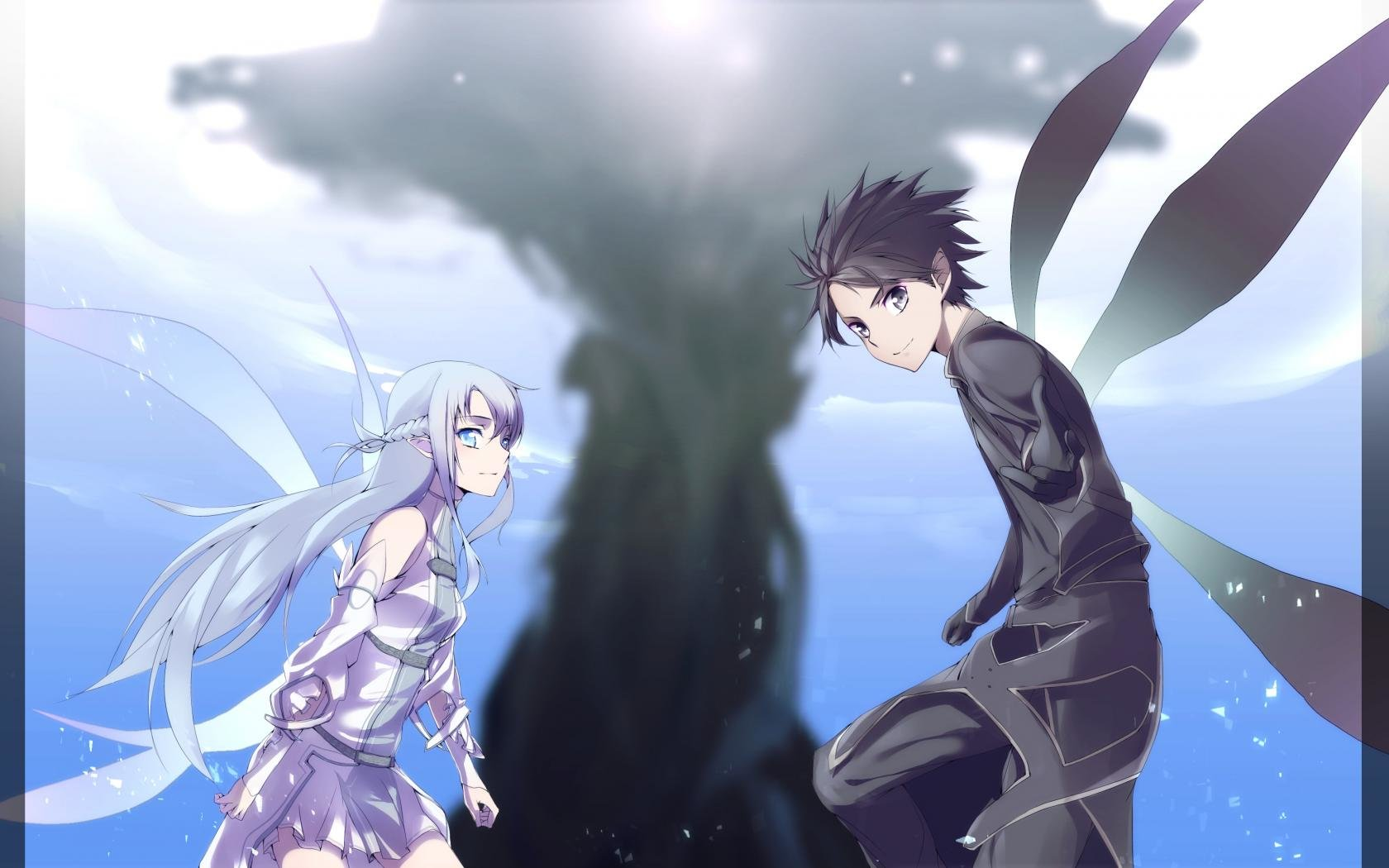 Awesome Sword Art Online 2 (II) free background ID:112874 for hd 1680x1050 PC