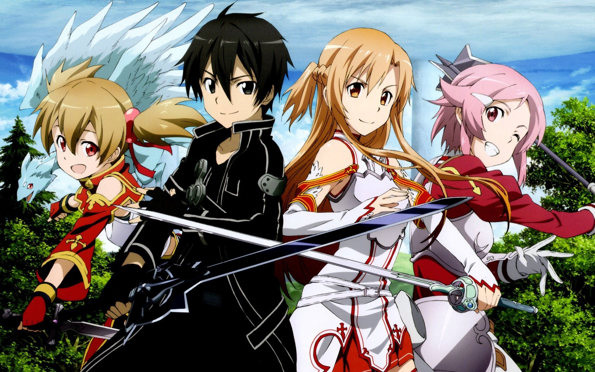 Free Sword Art Online (SAO) high quality background ID:180744 for hd 1920x1200 computer