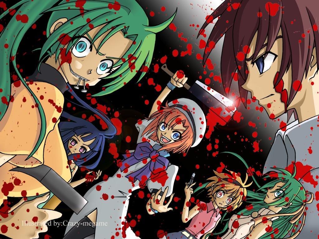 Awesome When They Cry Higurashi No Naku Koro Ni Free Wallpaper