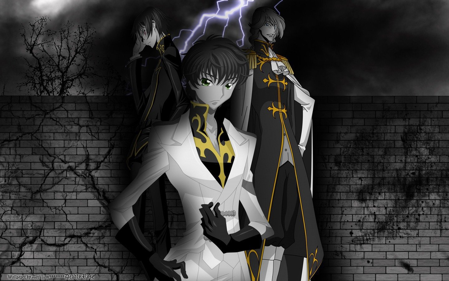 High resolution Code Geass hd 1440x900 wallpaper ID:44936 for PC