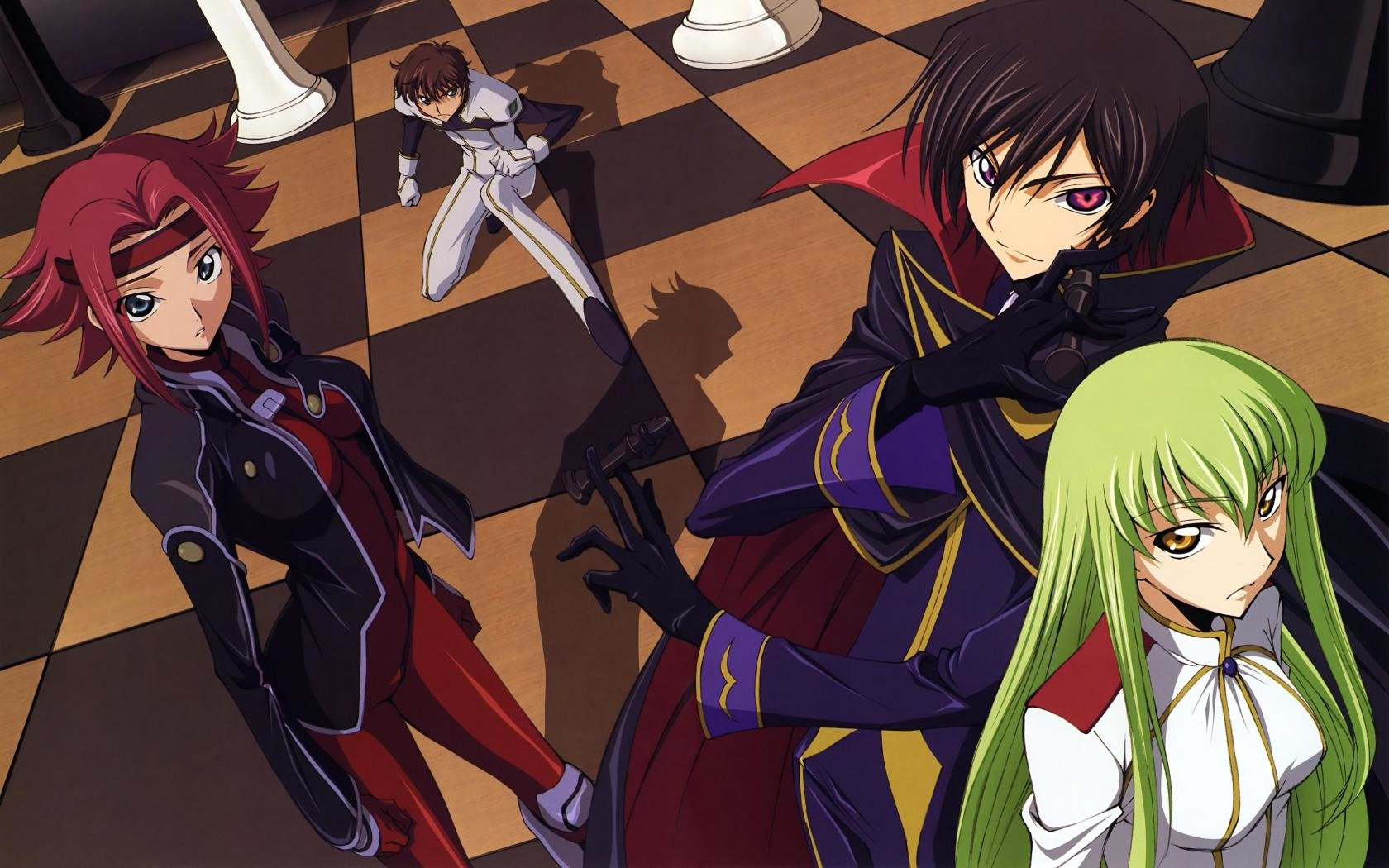 Free download Code Geass background ID:43896 hd 1680x1050 for computer