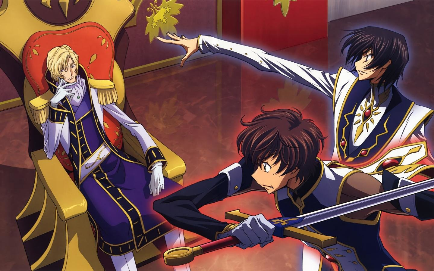 High resolution Code Geass hd 1440x900 wallpaper ID:44317 for desktop