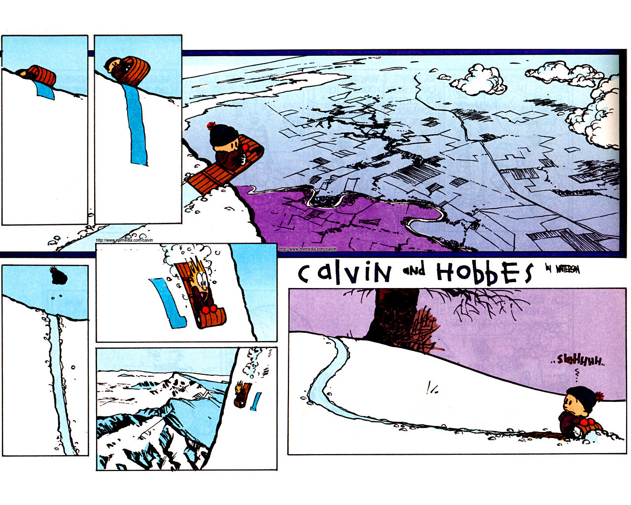 Awesome Calvin and Hobbes free background ID:211368 for hd 1280x1024 computer