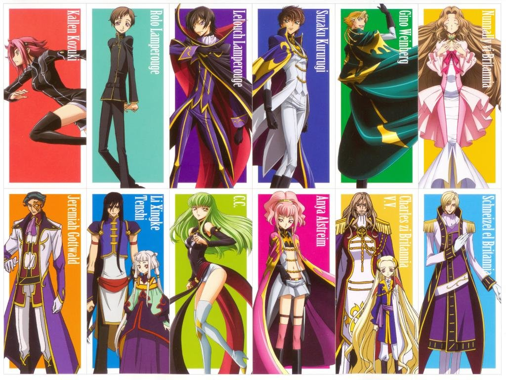Free download Code Geass background ID:43759 hd 1024x768 for desktop