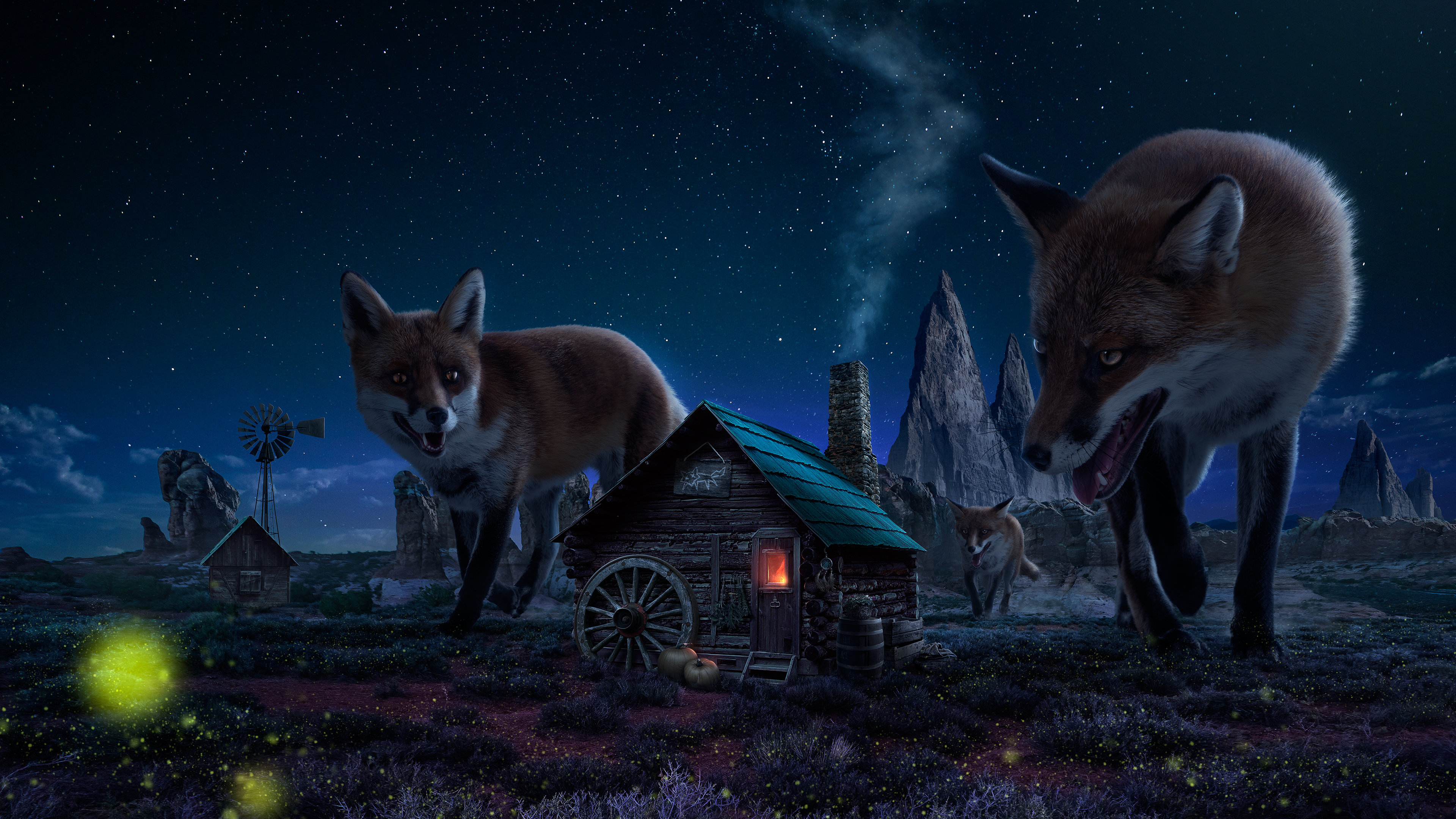 Fantasy animal wallpapers 3840x2160 ultra hd 4k desktop - Ultra hd animal wallpapers ...