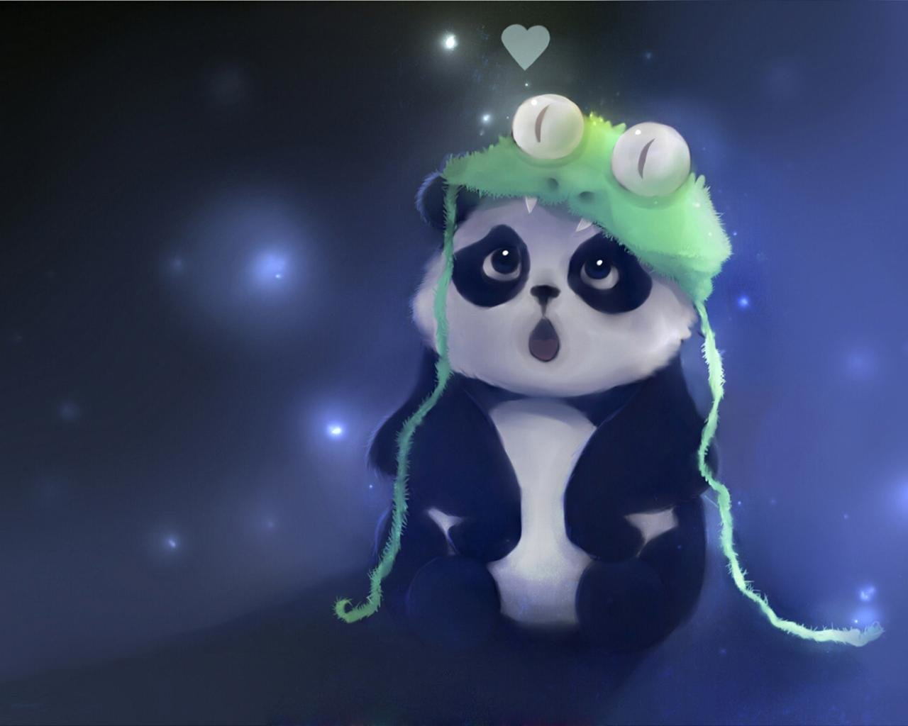 Awesome Panda free wallpaper ID:300420 for hd 1280x1024 PC