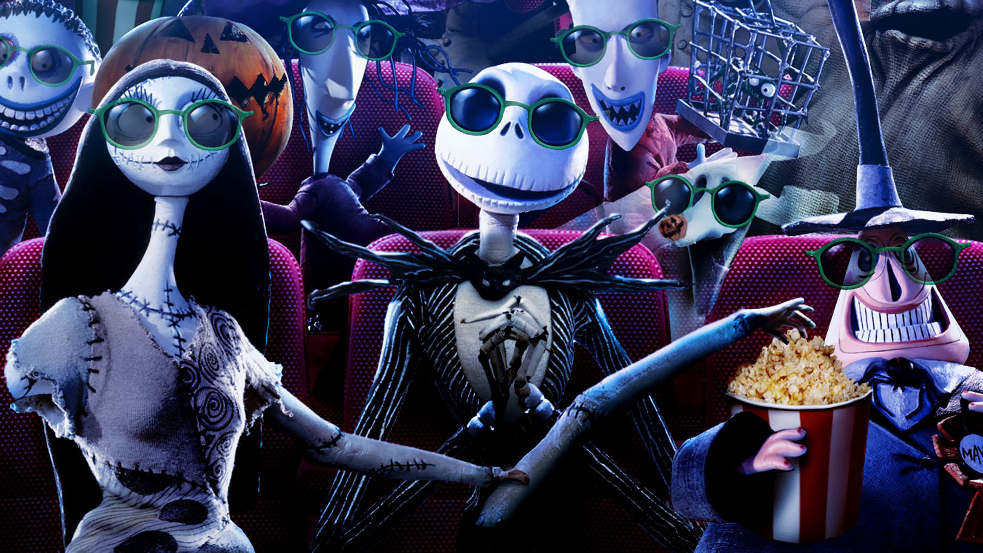 The Nightmare Before Christmas Wallpapers Hd For Desktop Backgrounds