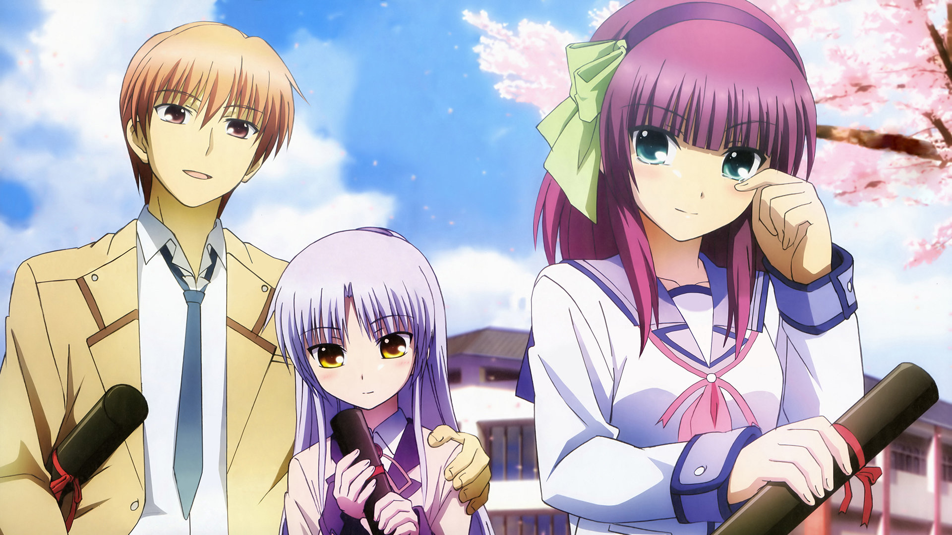 High resolution Angel Beats! full hd 1920x1080 wallpaper ID:235517 for PC