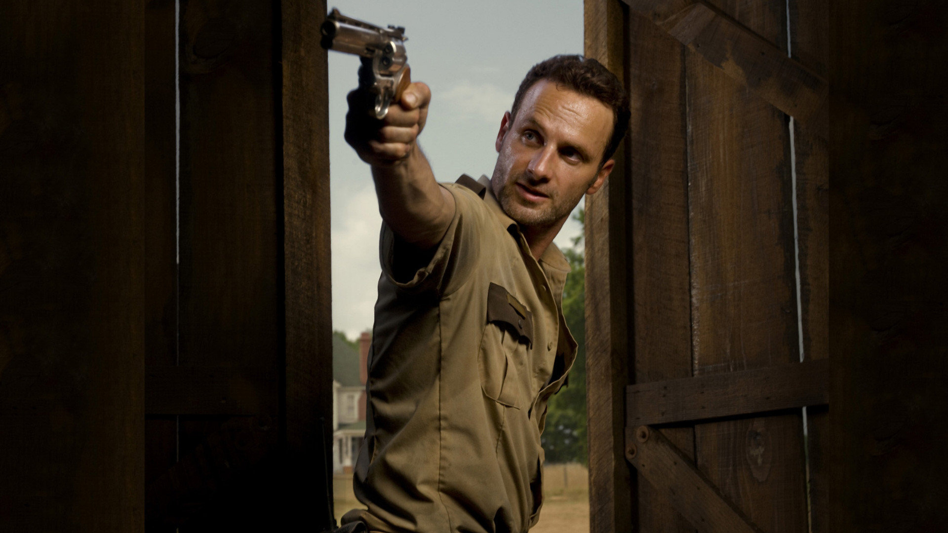 Awesome Rick Grimes Free Wallpaper ID190811 For Hd 1080p PC