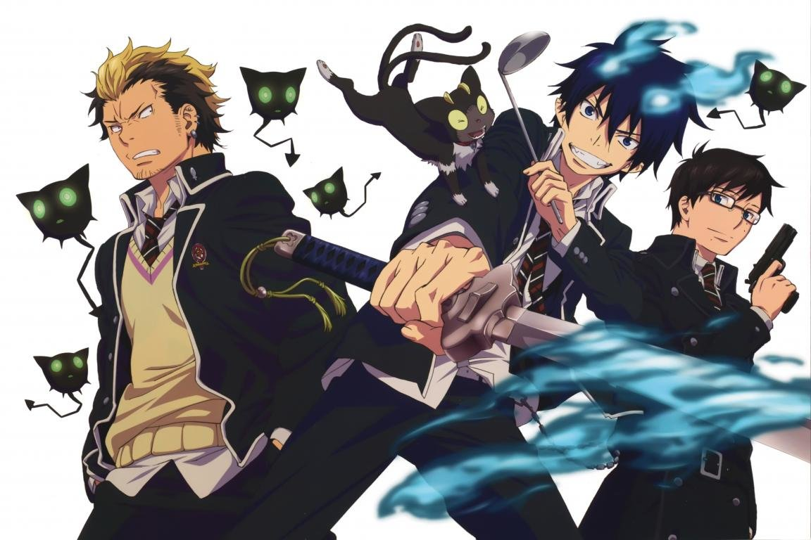 Free Blue Exorcist (Ao No) high quality background ID:242118 for hd 1152x768 computer