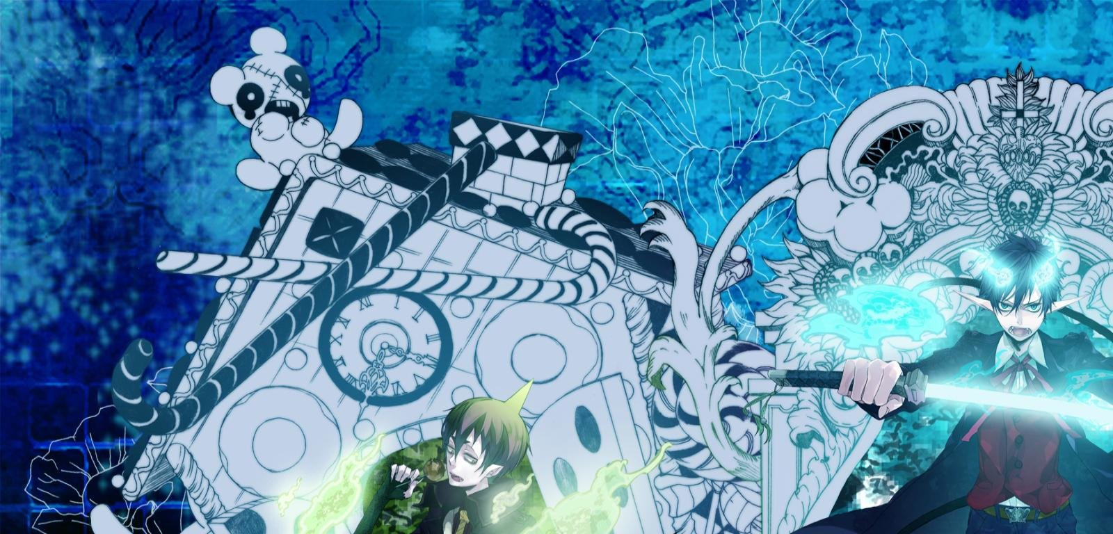 Free download Blue Exorcist (Ao No) background ID:242135 hd 1600x768 for computer