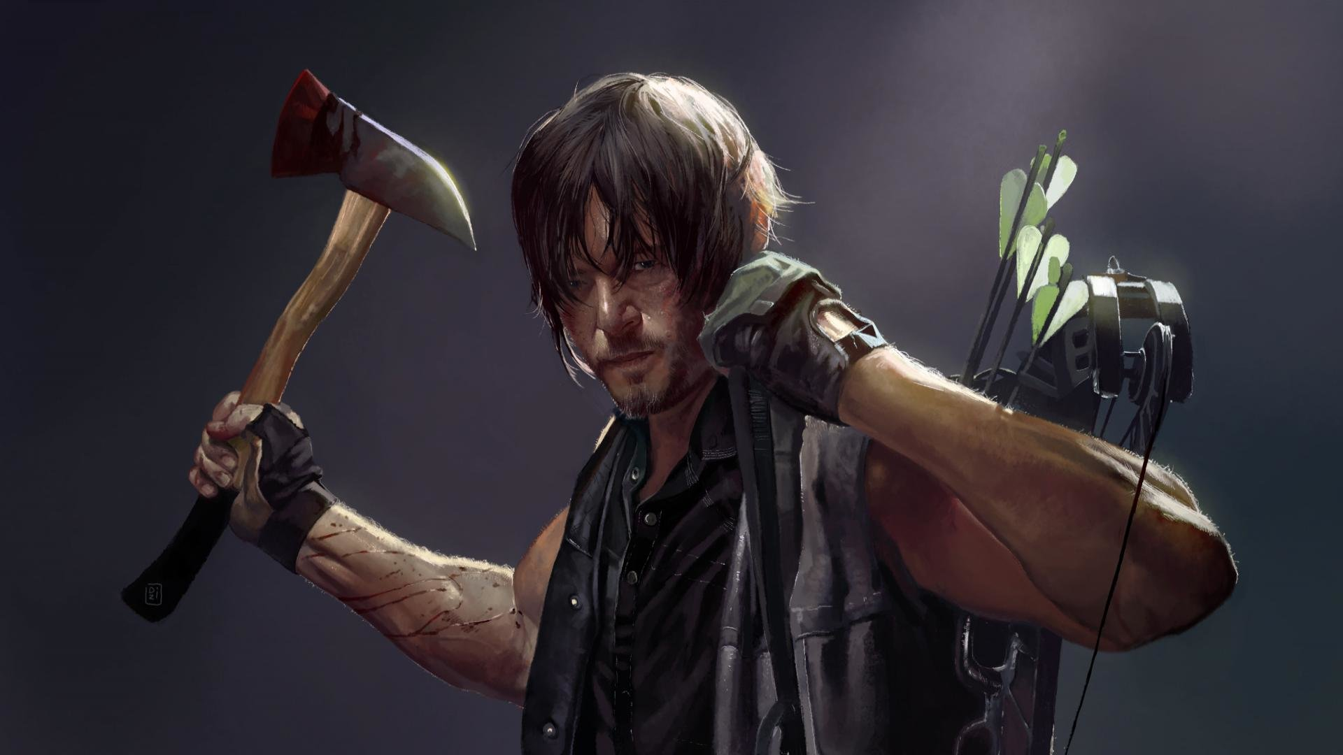 Download full hd Daryl Dixon PC background ID:190177 for free