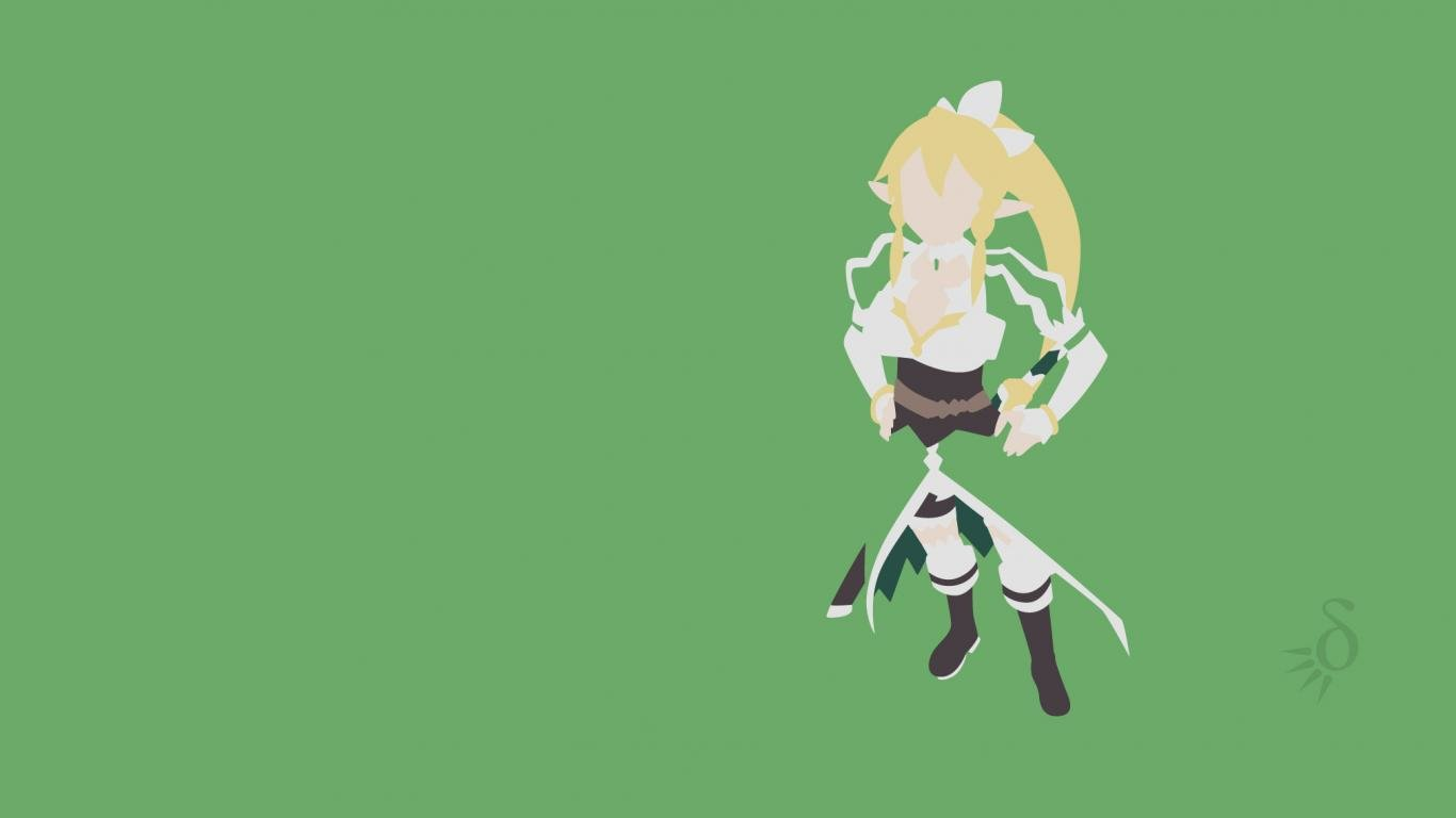 Free Leafa (SAO) high quality background ID:181211 for laptop desktop
