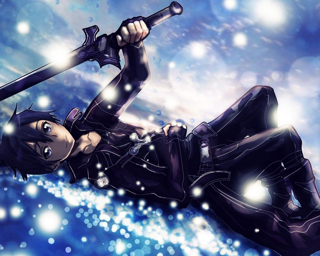 Free download Kirito (SAO) background ID:180829 hd 1280x1024 for PC