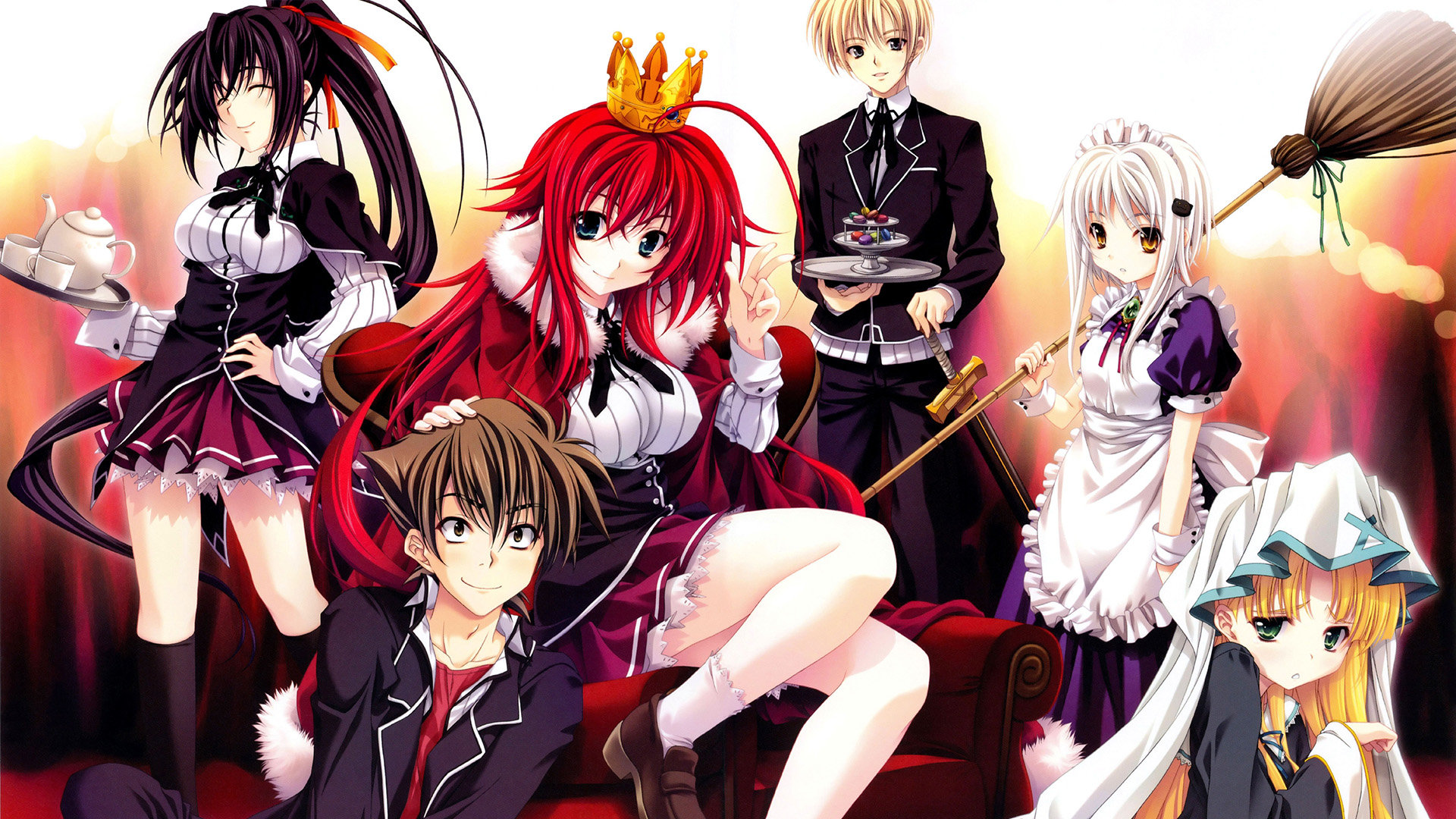 Best High School DxD background ID:273692 for High Resolution hd 1080p PC
