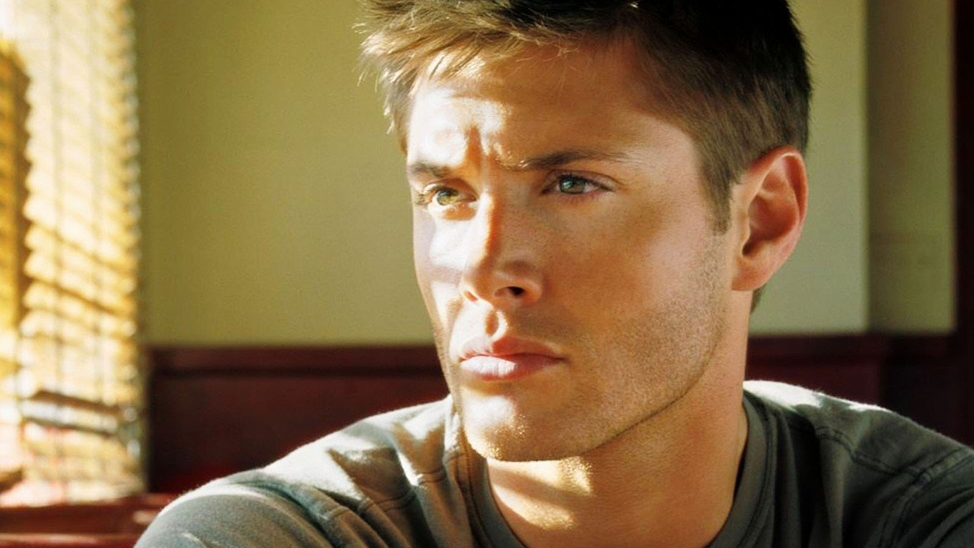 Free download Jensen Ackles background ID:340183 1366x768 laptop for PC