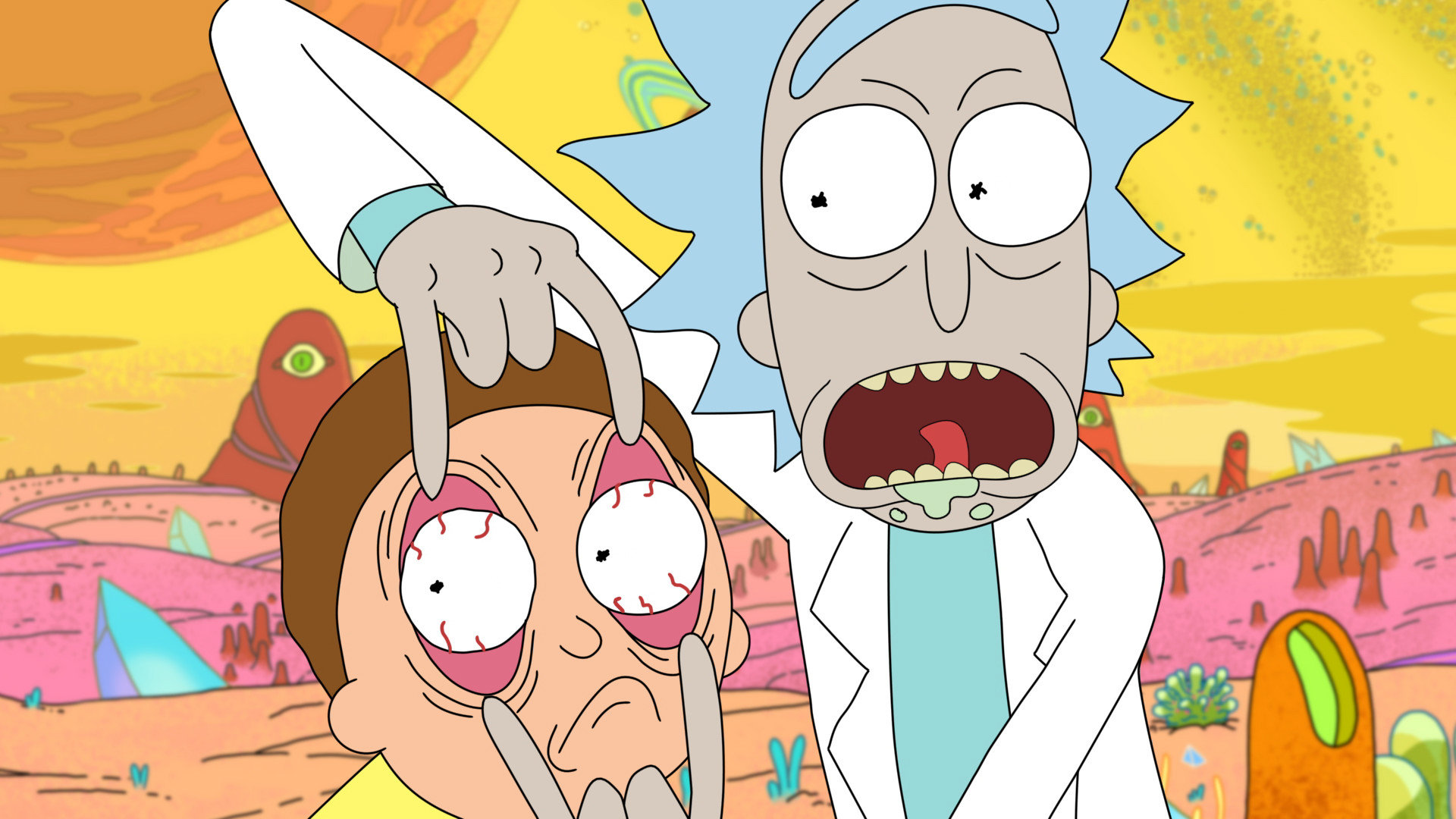 Download Full Hd Rick And Morty Pc Wallpaper Id 470658 For Free
