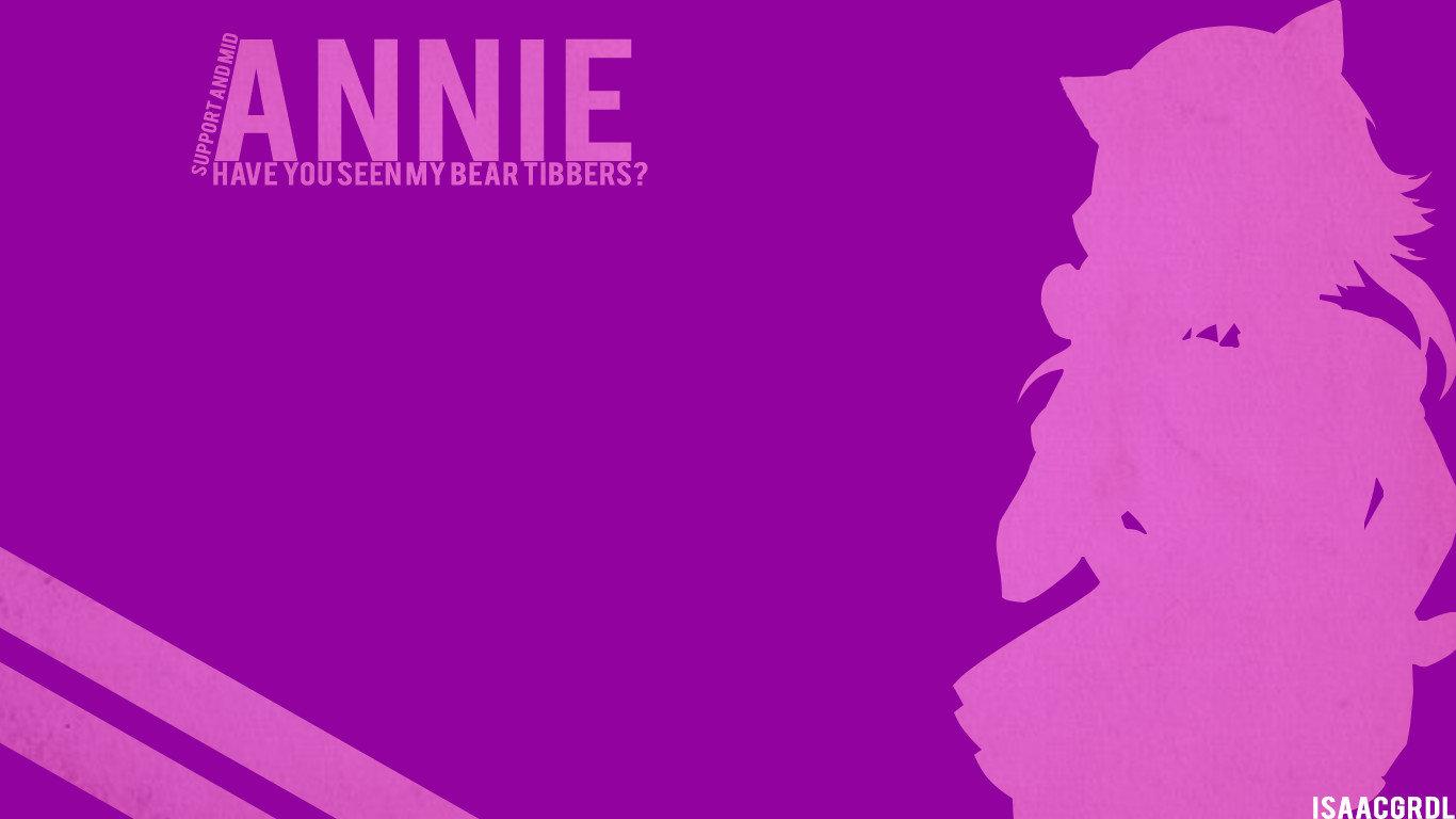 Annie League Of Legends Wallpapers 1366x768 Laptop Desktop