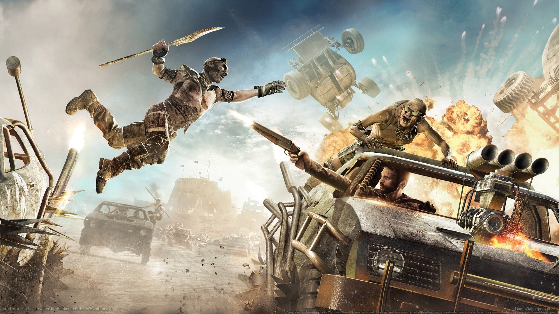 Best Mad Max Video Game Background Id315084 For High Resolution Full Hd Desktop