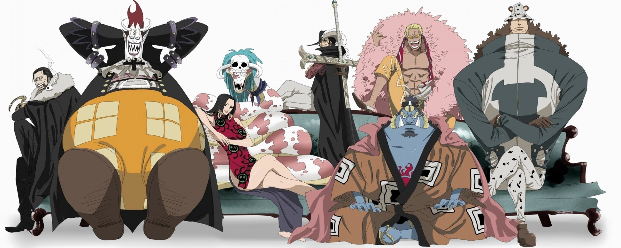 Free download One Piece wallpaper ID:313996 dual monitor 2569x1024 for desktop