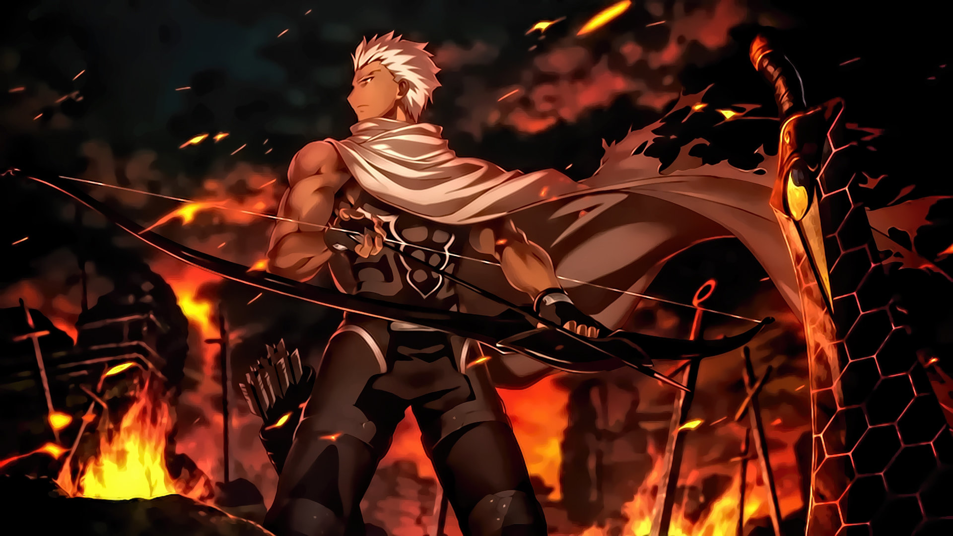 Awesome Fate/Stay Night: Unlimited Blade Works free background ID:291044 for hd 1080p computer
