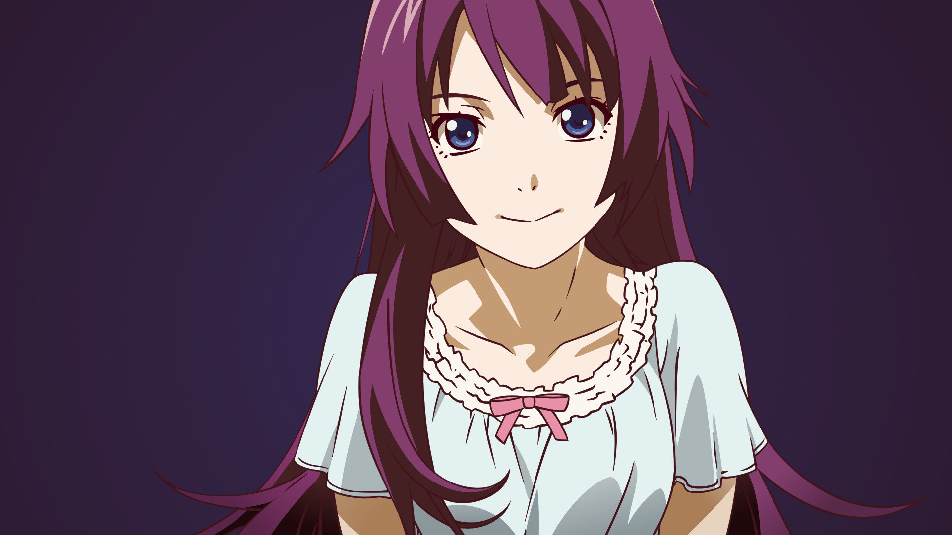 Download 1080p Hitagi Senjogahara computer wallpaper ID:108657 for free