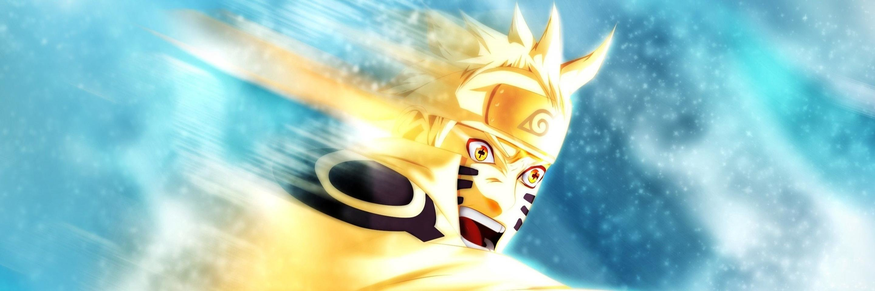 Free download Naruto Uzumaki background ID:395816 dual screen 2880x960 for PC
