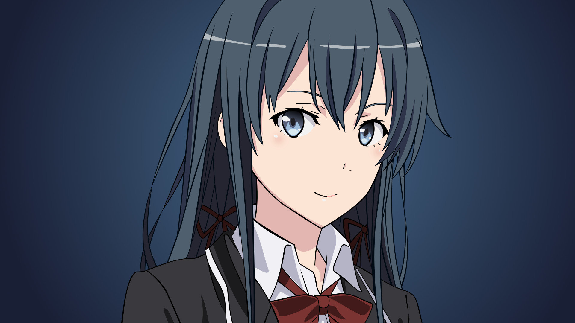 Best Yukino Yukinoshita wallpaper ID:61519 for High Resolution 1080p computer