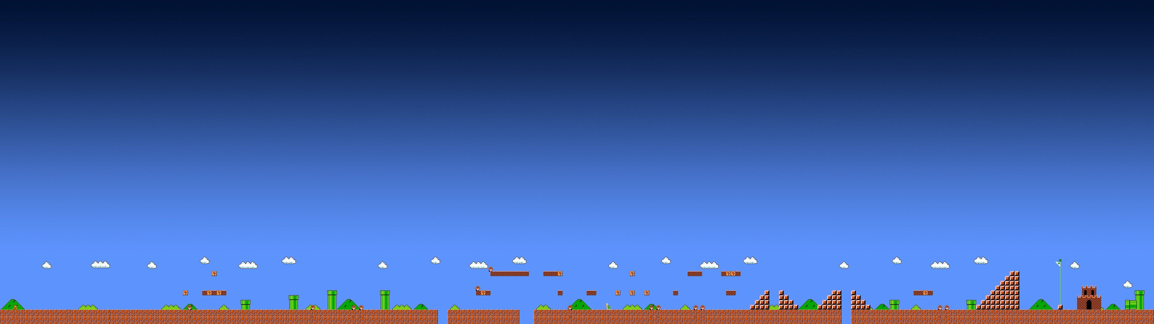 Best Mario background ID:58118 for High Resolution dual monitor 1920x1080 PC