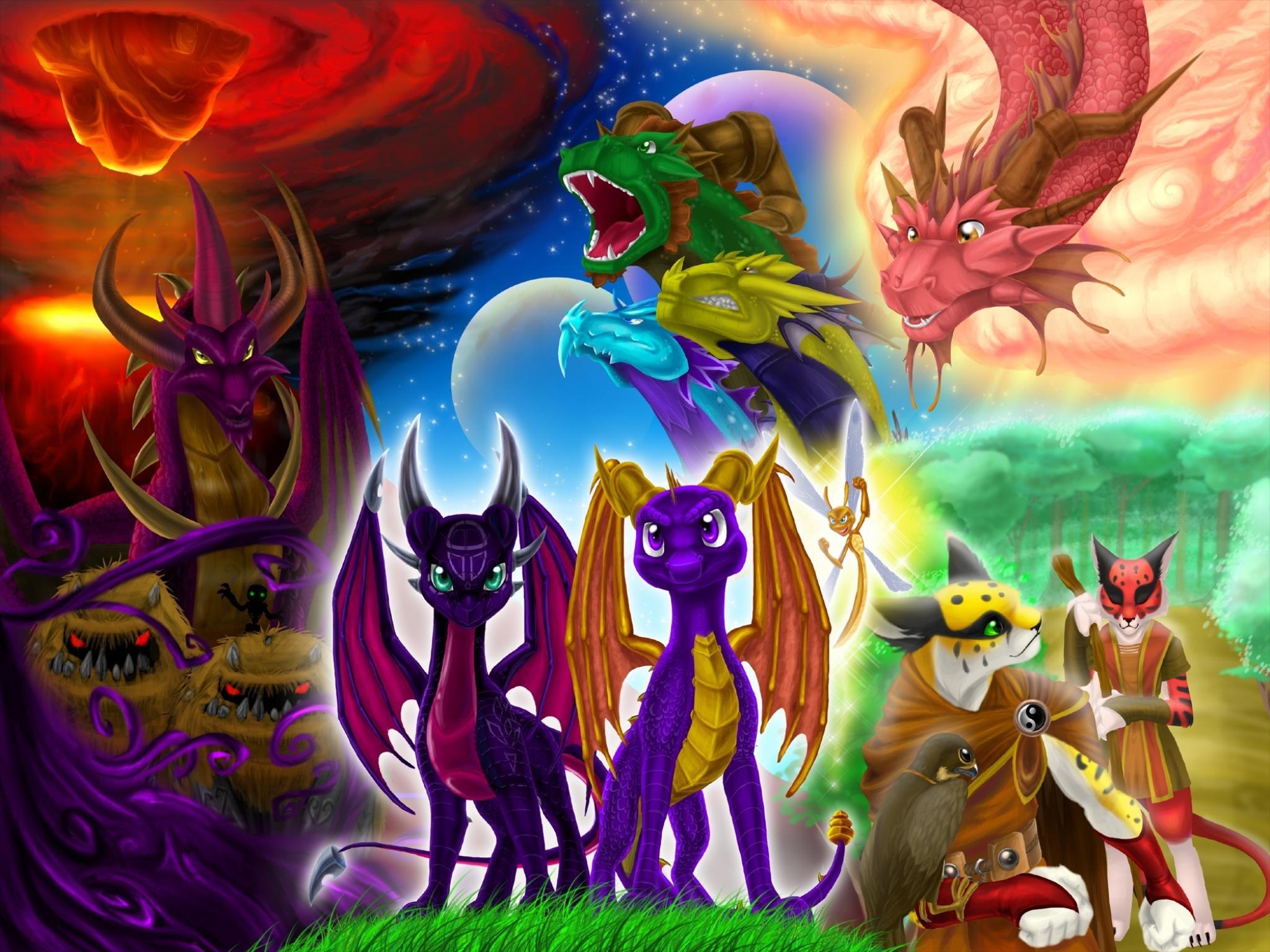 Free Spyro The Dragon High Quality Background Id 231538 For Hd