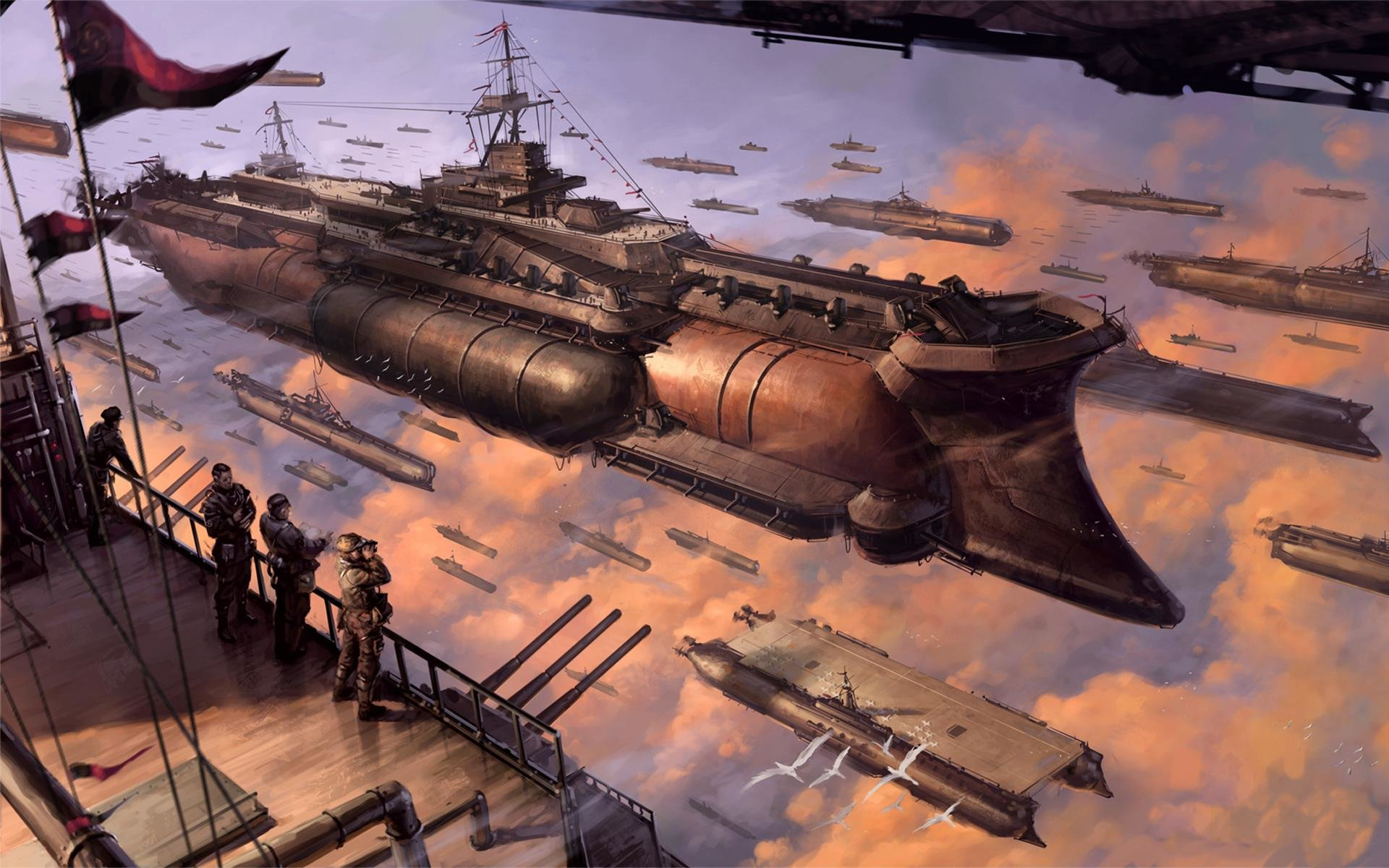 Awesome Last Exile free background ID:156864 for hd 1920x1200 desktop