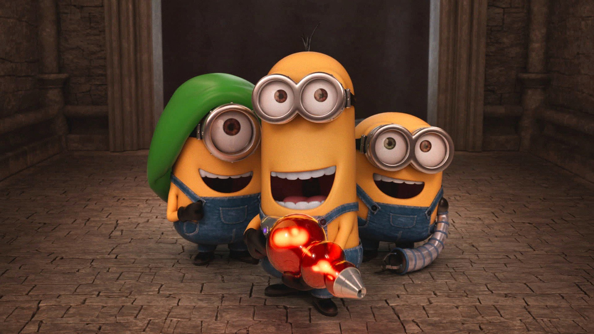 Free download Minions background ID:70239 hd 2048x1152 for PC