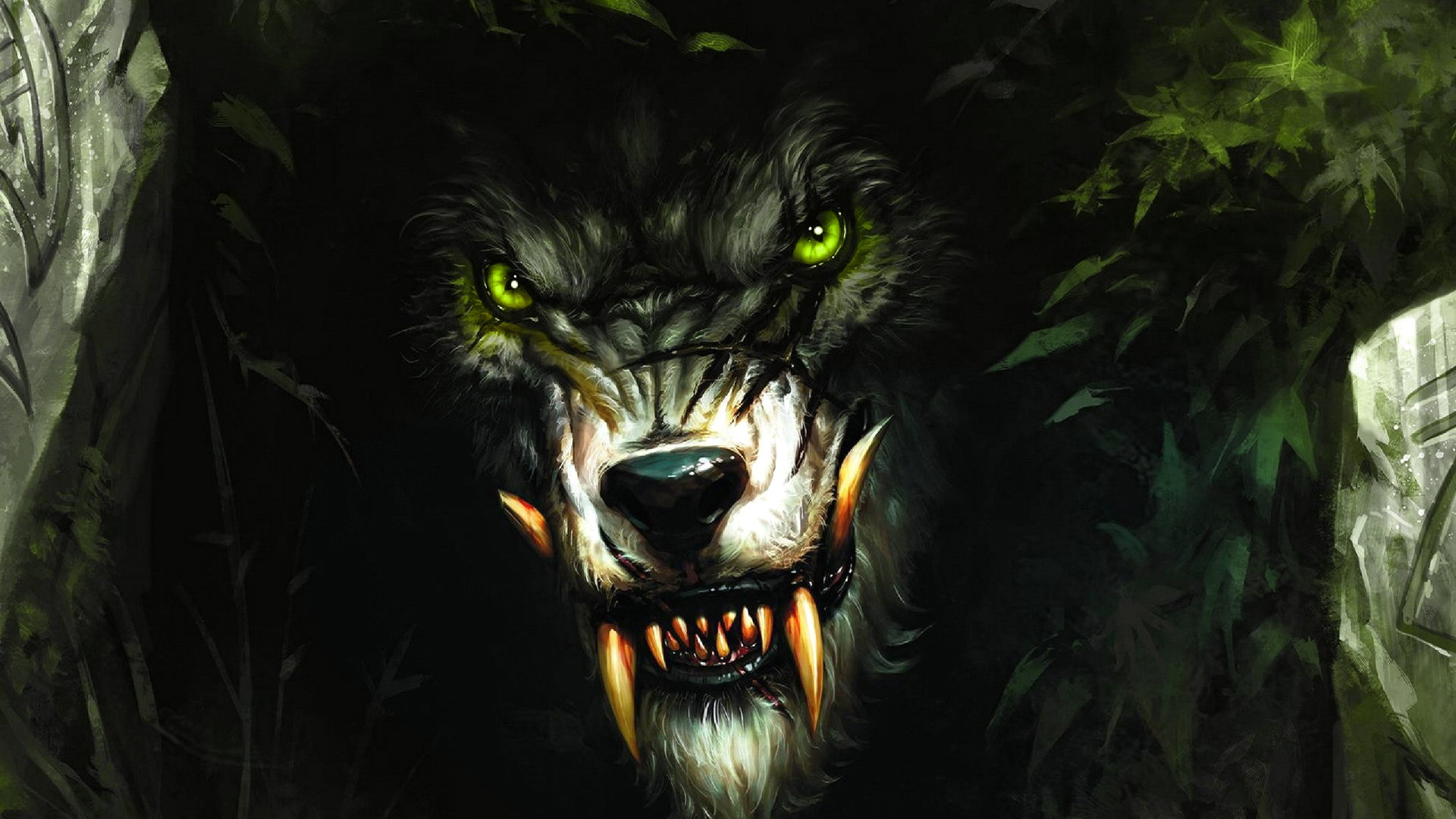 High resolution Werewolf full hd 1080p background ID:163759 for PC