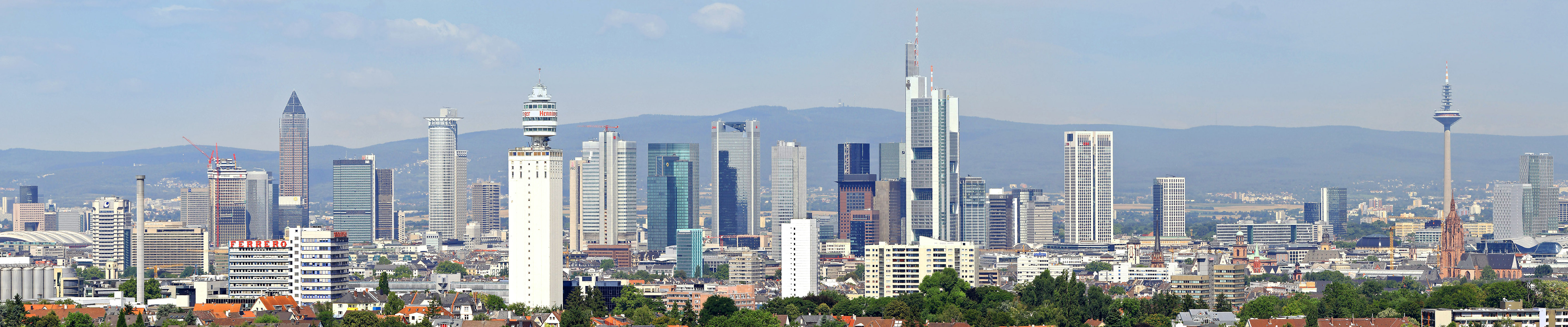 Download triple monitor 5760x1200 Frankfurt desktop background ID:474293 for free