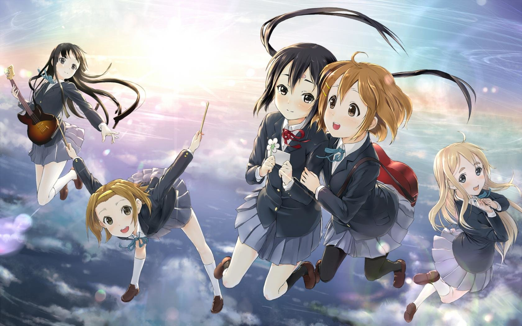 High resolution K-ON! hd 1680x1050 wallpaper ID:212427 for computer