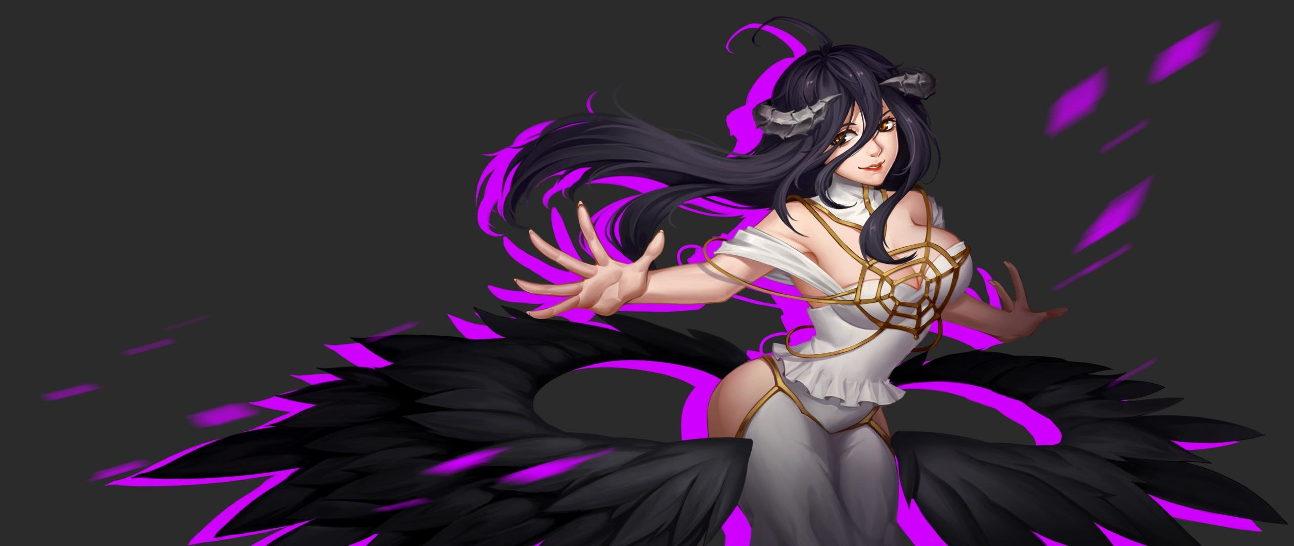 Awesome Albedo (Overlord) free wallpaper ID:275966 for hd 2560x1080 desktop