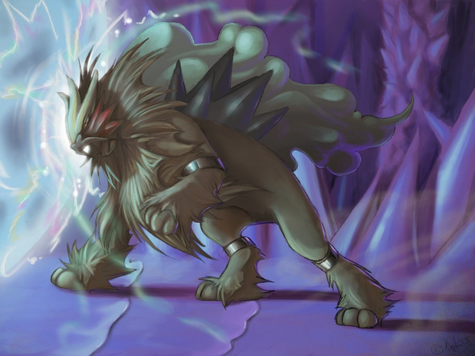 Best Entei (Pokemon) wallpaper ID:278842 for High Resolution hd 1600x1200 PC