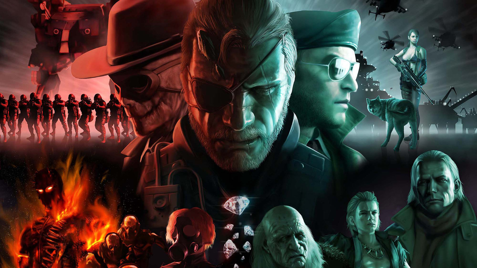High Resolution Metal Gear Solid 5 V The Phantom Pain Mgsv 5