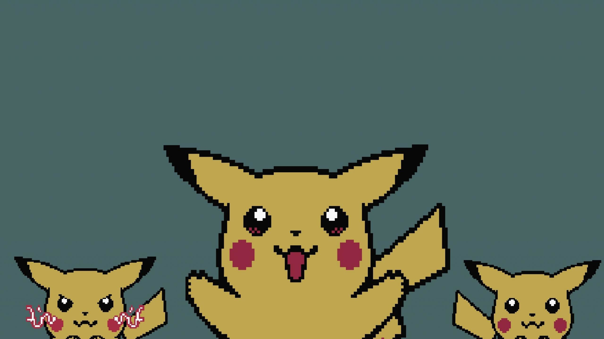 High resolution Pikachu hd 2560x1440 background ID:280353 for desktop