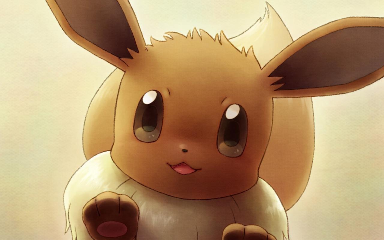 Eevee Pokemon Wallpapers 1280x800 Desktop Backgrounds