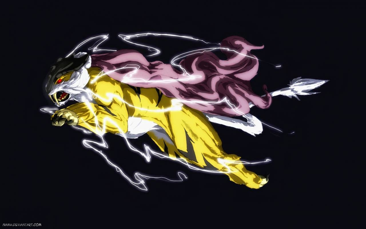 Download hd 1280x800 Raikou (Pokemon) desktop background ID:278702 for free