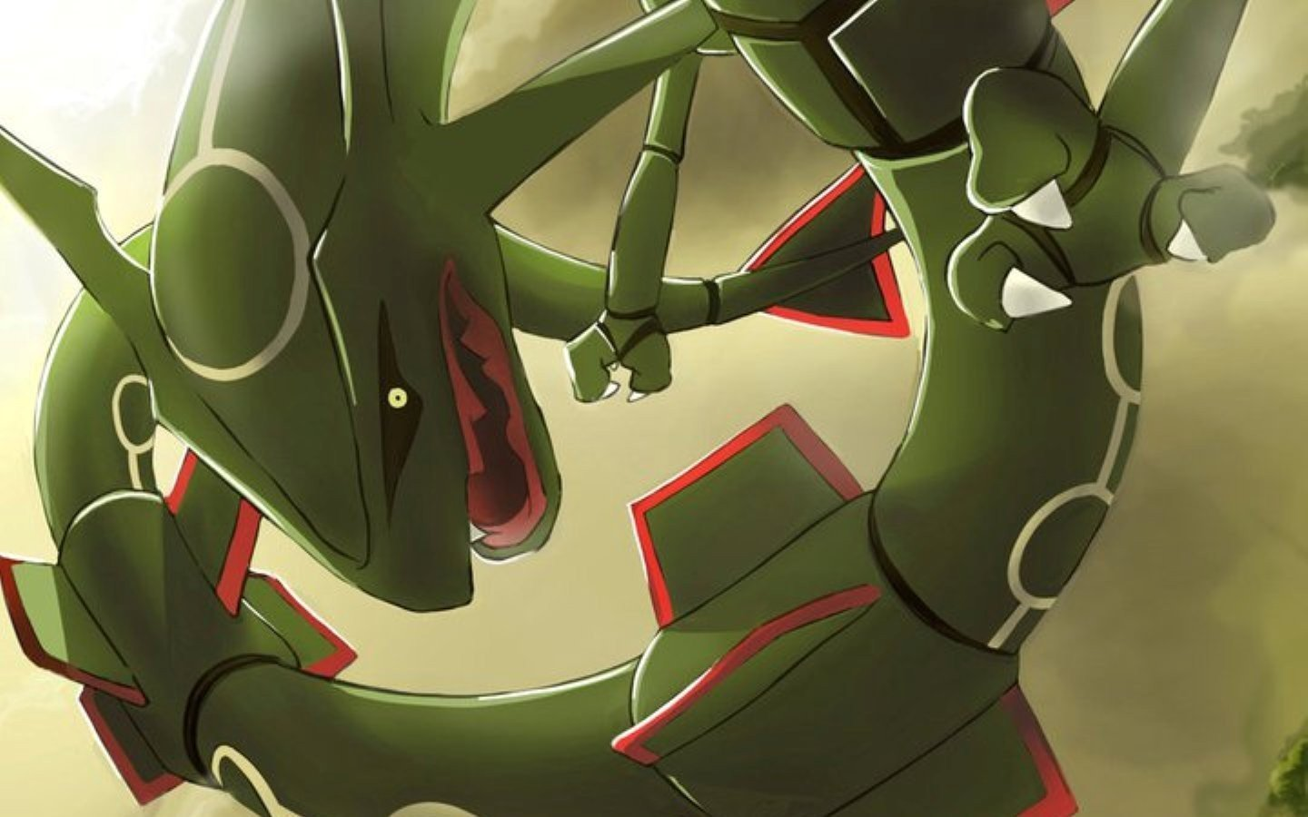 Awesome Rayquaza (Pokemon) free wallpaper ID:278598 for hd 1440x900 desktop