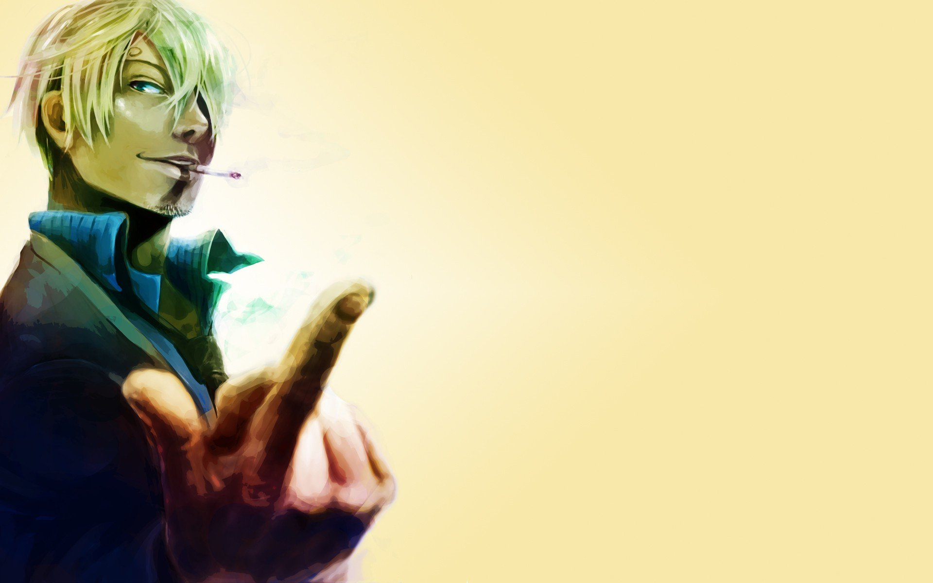 Free Sanji (One Piece) high quality background ID:314474 for hd 1920x1200 PC