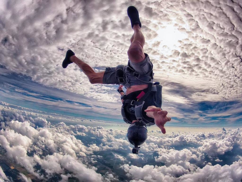 High resolution Skydiving hd 1024x768 background ID:234415 for desktop