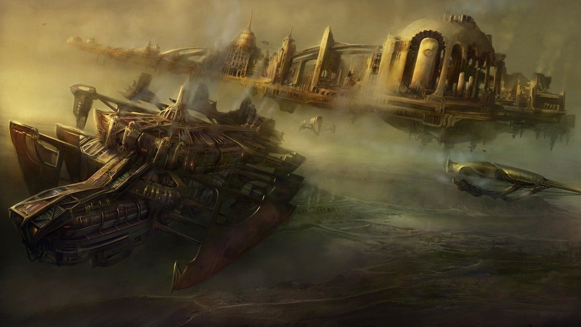 Best Steampunk Wallpaper Id 10542 For High Resolution 1080p Computer