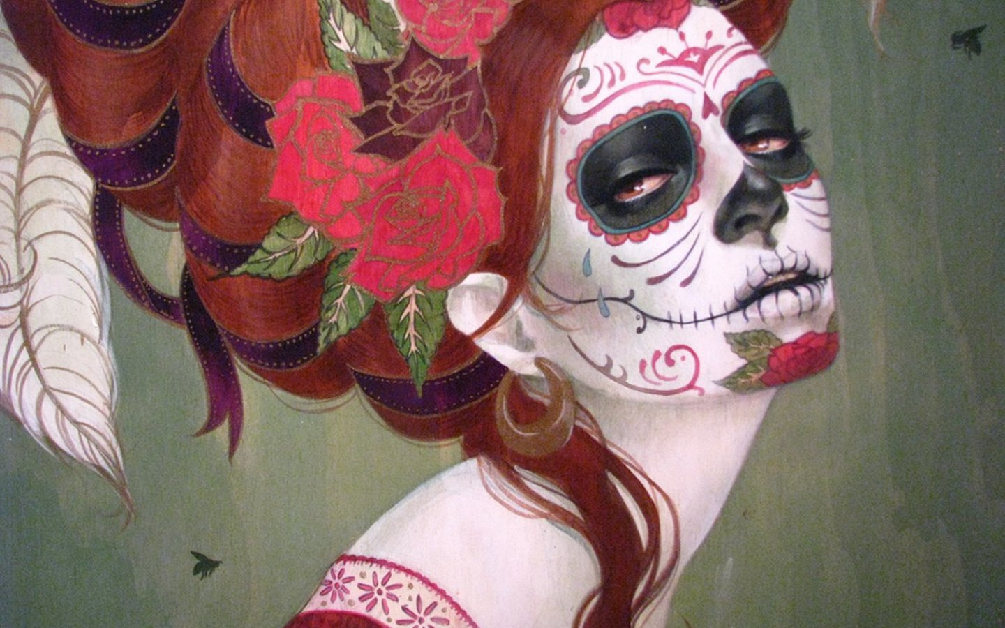 Day Of The Dead HD Backgrounds For 1440x900 Desktop
