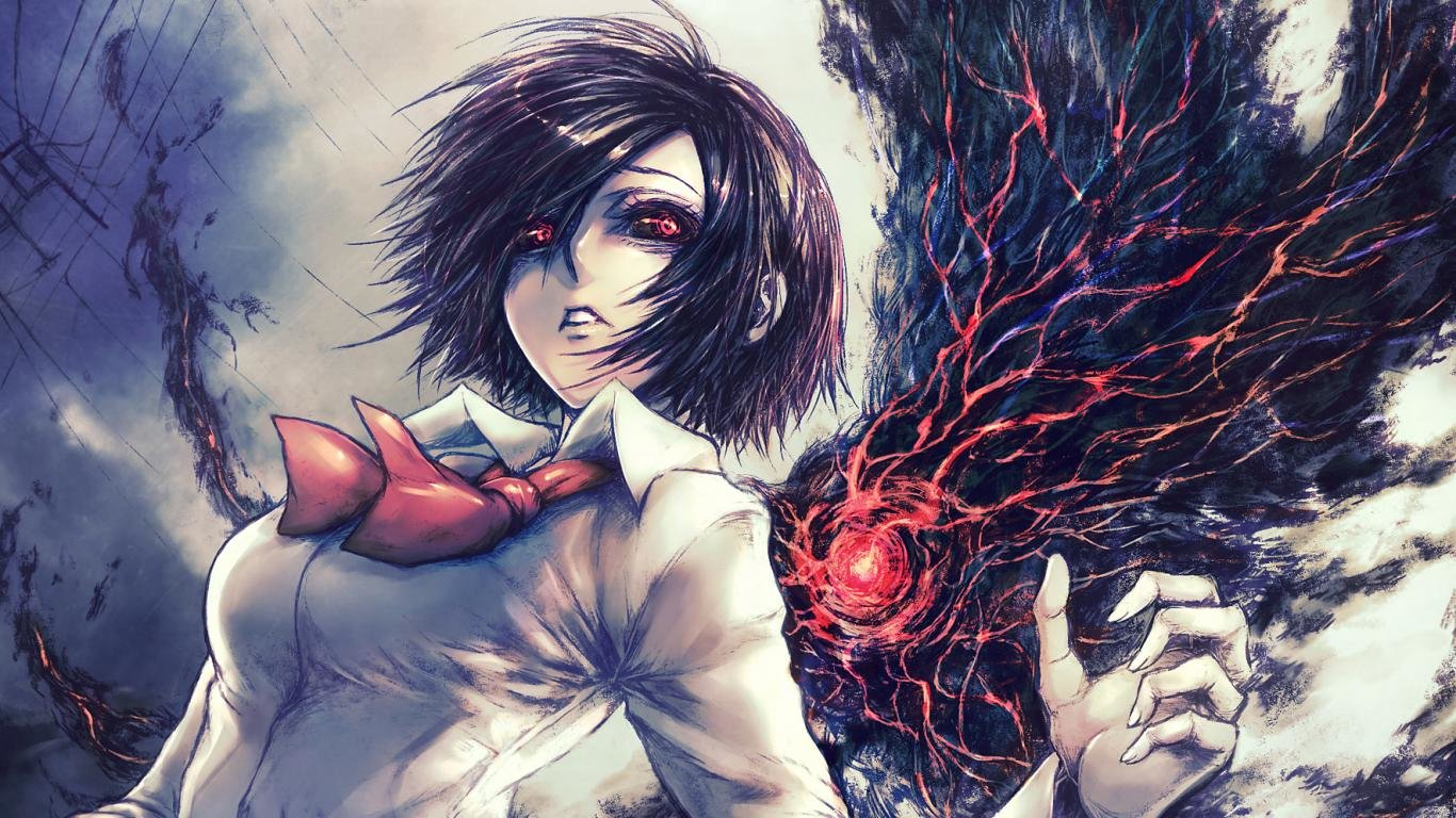 Free Touka Kirishima high quality background ID:150181 for hd 1366x768 computer